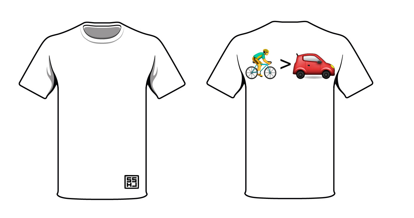 Bike Car Shirt Design