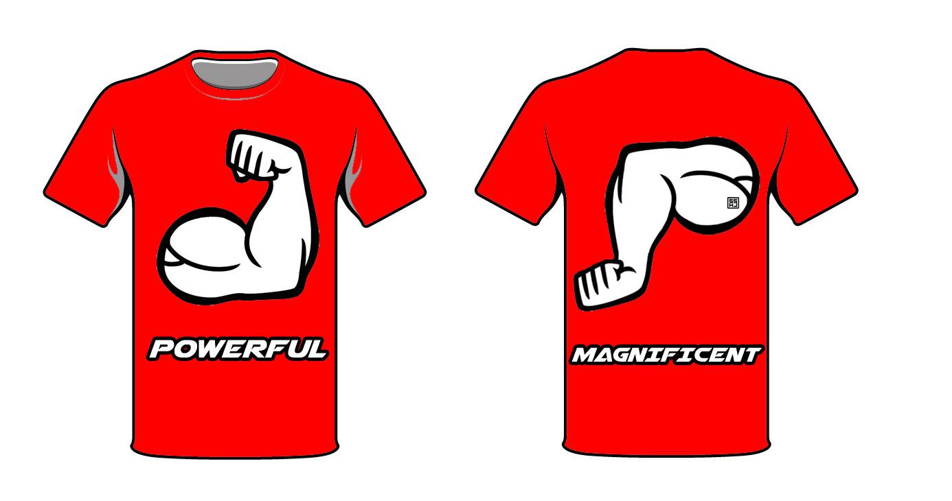 Powerful Shirt Design