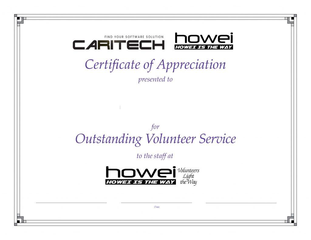 Caritech Certificate Designs