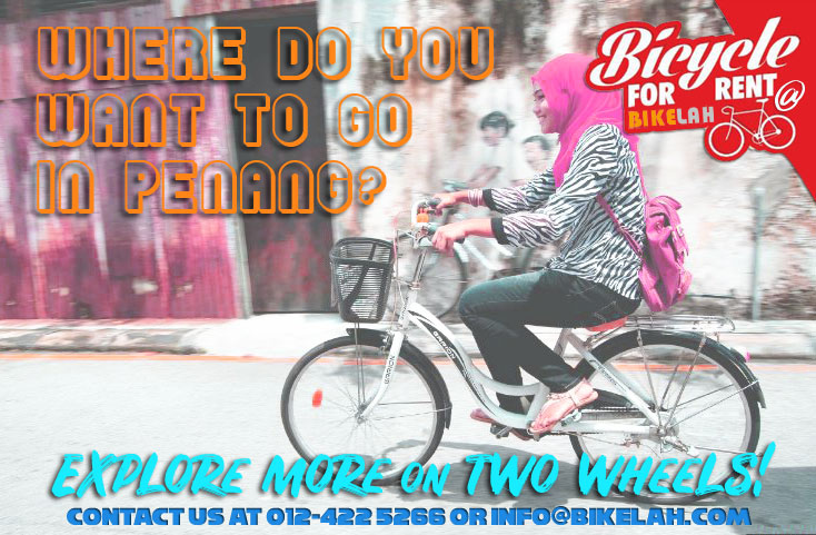 Bicycle Rental Penang Bikelah