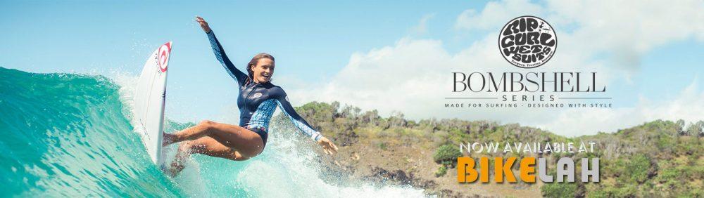 Bikelah Ripcurl Surfing