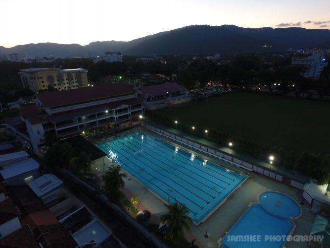 Penang CRC Swimming Pool George Town Aerial