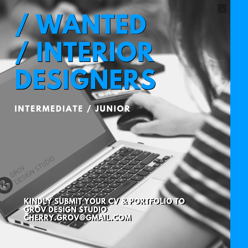Wanted Interior Designers