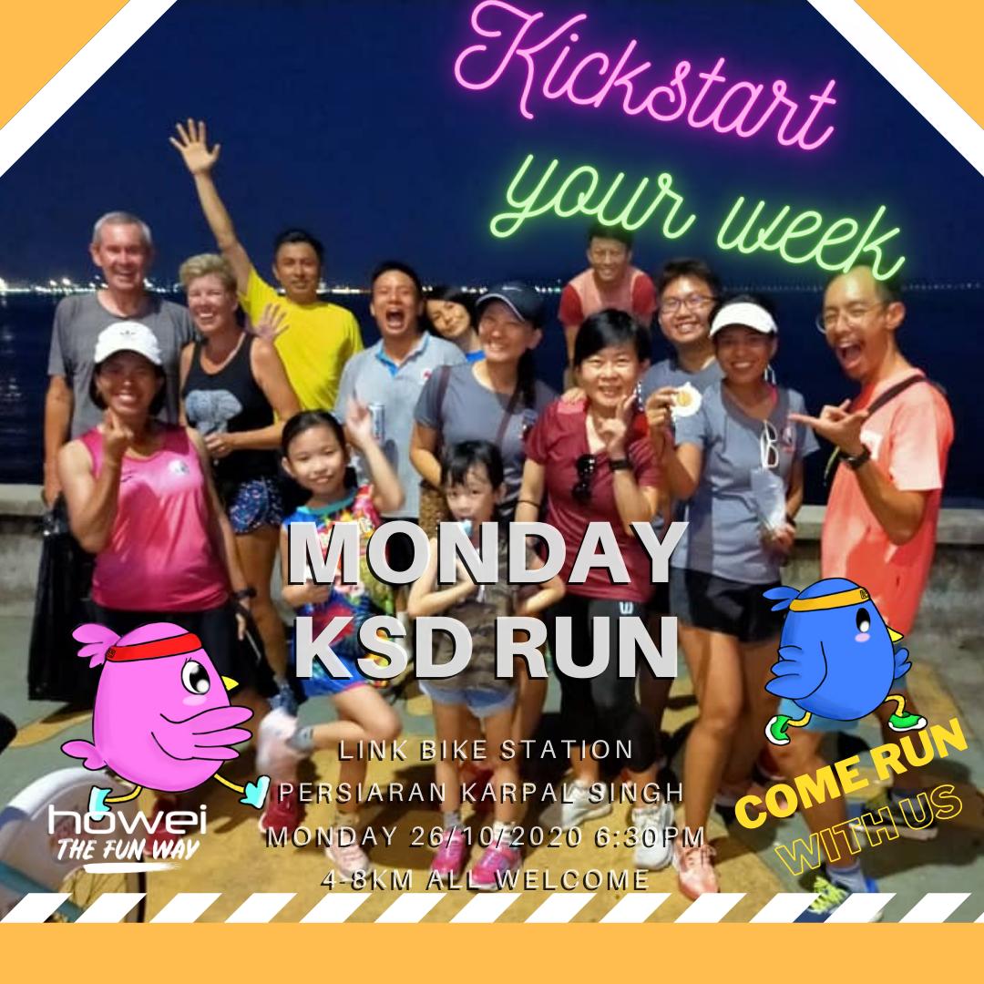 Howei Monday Kickstart KSD Run