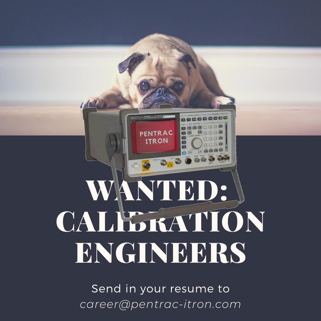 Pentrac Itron Calibration Engineer Job