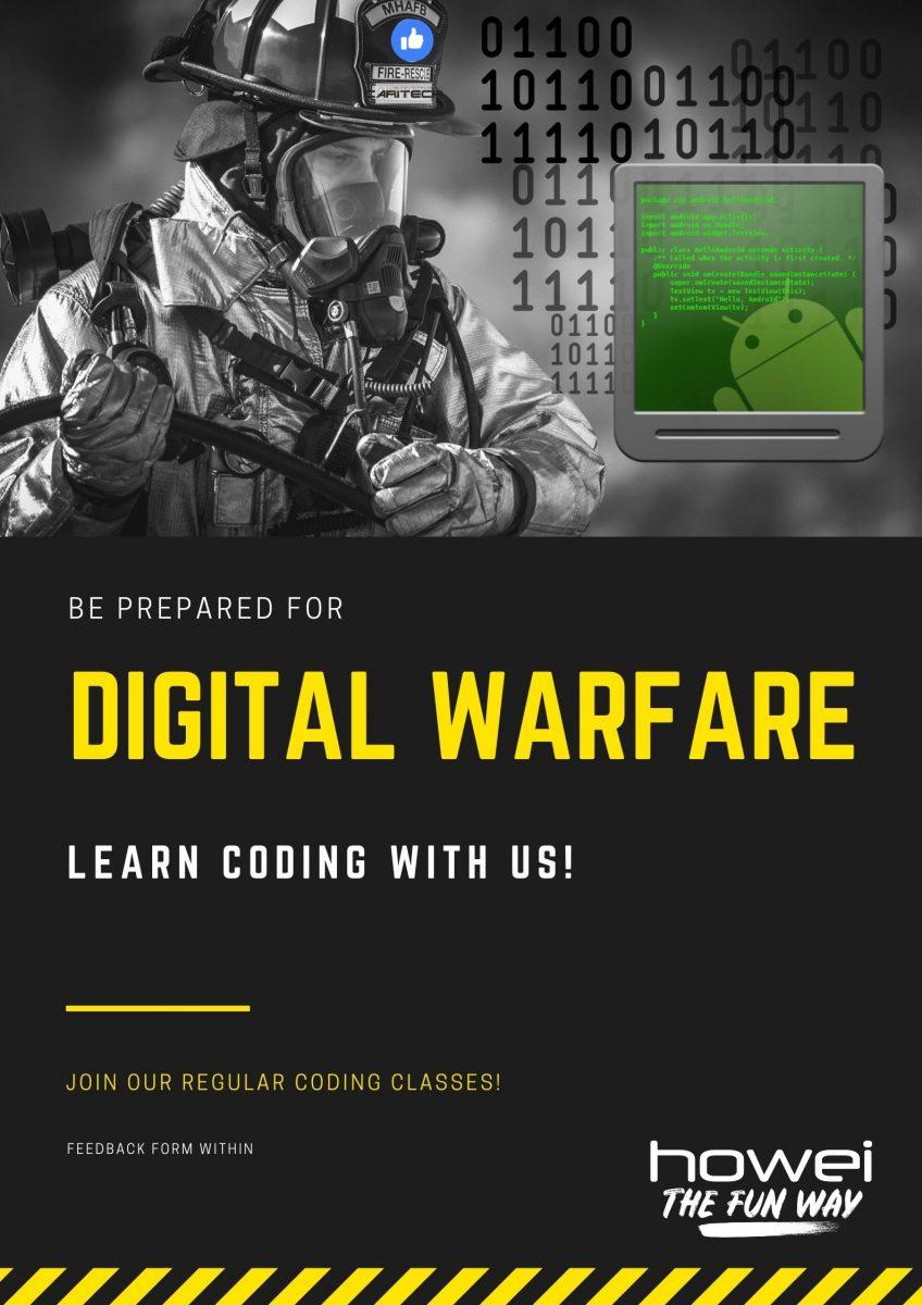 Digital Warfare Software Training Caritech Howei