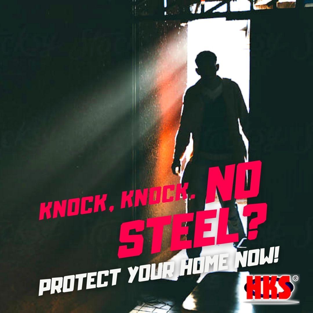 Hai Kang Steel Metal Door Frame Security