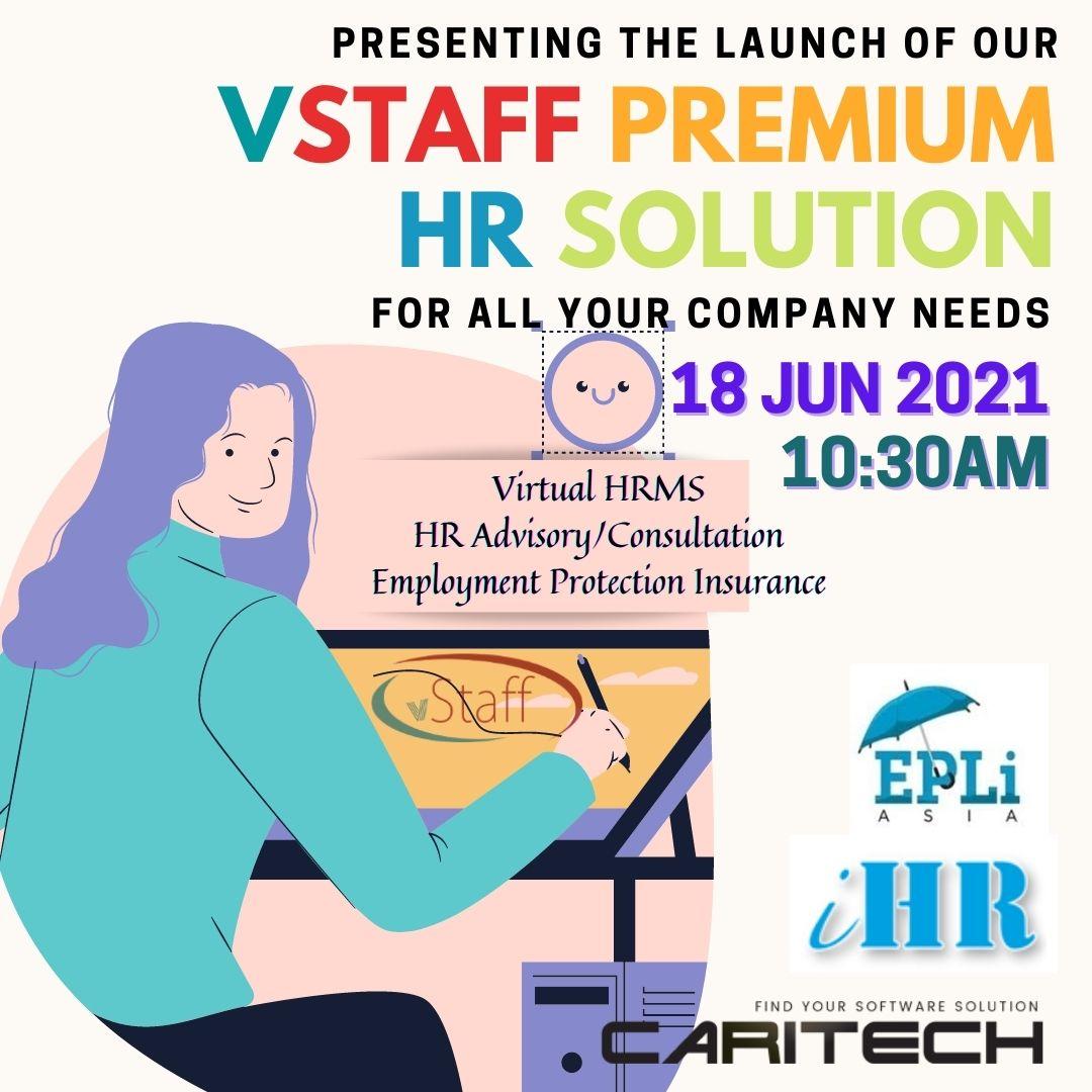 Online webinar for vStaff Premium HRMS