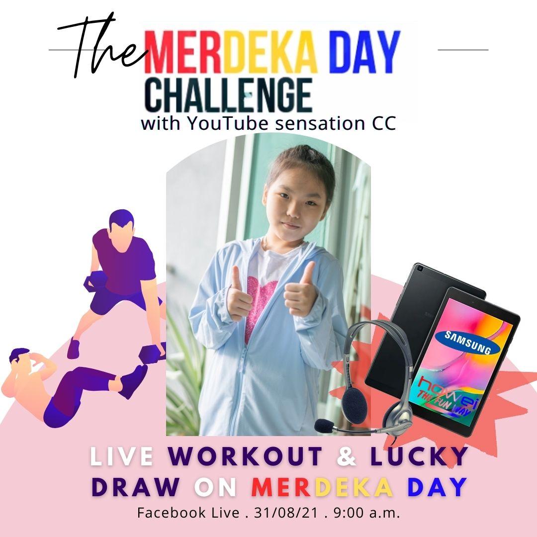 Merdeka Day Malaysia 2022k Steps Challenge Howei Virtual Event