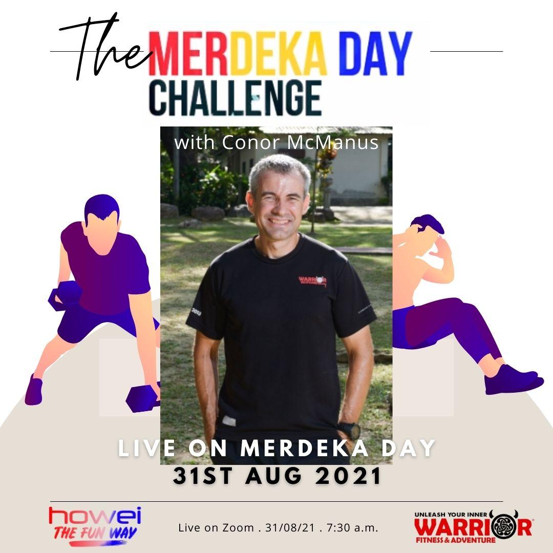 Merdeka Day 2022k Steps Challenge Howei Virtual Event Conor Mcmanus